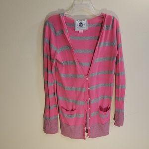 Victoria's Secret PINK hooded cardigan